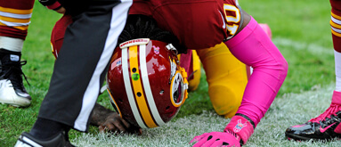 How much is RG3 worth to Redskins-Vikings spread?