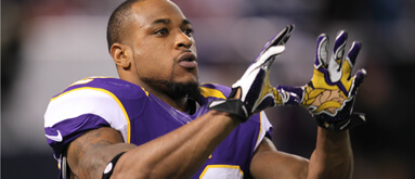 Oddsmaker: Vikes' Harvin worth 'about 2 points' to spread