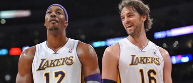 Lakers coming up short for bettors without Gasol, Howard