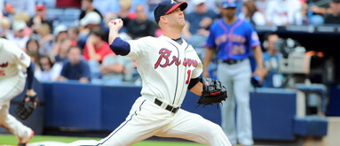 Braves pitchers stellar at home, poor on the road