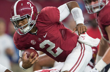 """How To Bet - Even with big chalk, bettors """"can't get enough of 'Bama"""" in Championship Week"""