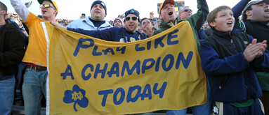 Projected BCS bowls and spreads: Irish meet Tide in BCS