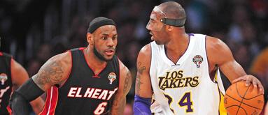 Heat, Lakers, Thunder top online book's NBA season win totals