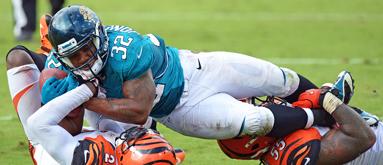 Jaguars-Packers spread the biggest of NFL season