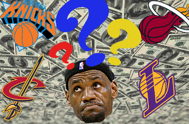 NBA title odds for every team IF they signed LeBron James