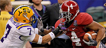 LSU or 'Bama? Which SEC power is the better bet in 2012