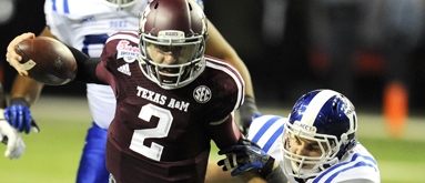 Texas A&M's Johnny Manziel to enter 2014 NFL Draft
