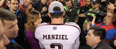 Bettors already fading Texas A&M before Manziel's Twitter tirade