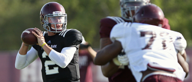 NCAAF Opening Line Report: Manziel worth at least 10 points