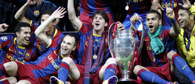 Champions League odds: Barca on top