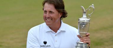 Mickelson +1200 to win PGA Championship, Tiger favorite