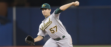 Straight A's for LHP Tom Milone from bettors