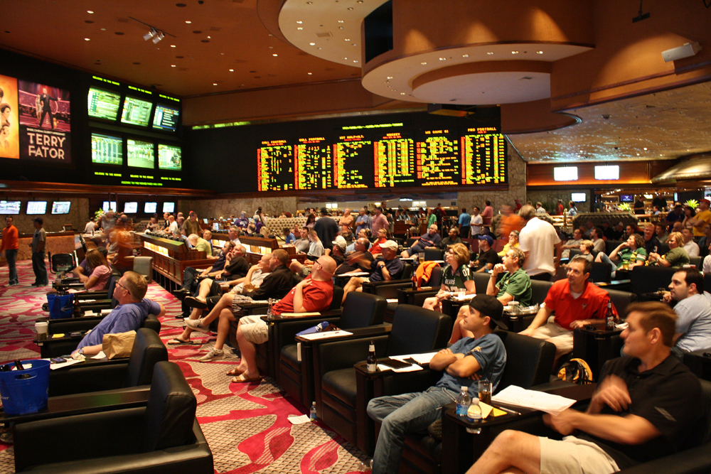 sports sportsbook betting mirage vegas casino books lounge casinos americans covers bettors evolution changing face westgate poll feel