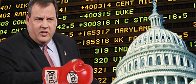 With Christie's OK, New Jersey takes sports betting fight to the feds