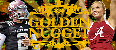 Golden Nugget's NCAAF 'Games of the Year' spreads