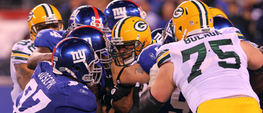 Sunday Night Football: Packers at Giants