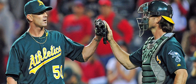 Red-hot A's among early MLB futures adjustments
