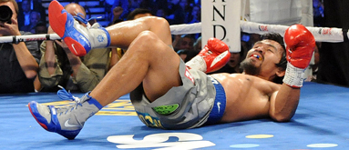 Pacquiao playing into Brandon Rios' emotional style