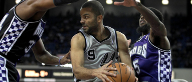 Spurs G Parker to miss four weeks with ankle sprain