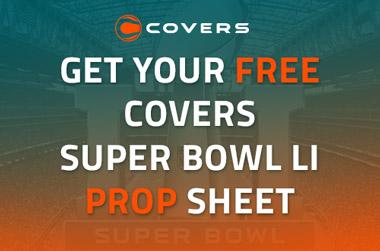 2017 super bowl prop bet sheets