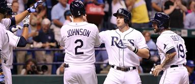 Rays riding longest over streak of MLB season