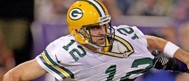 Rodgers' injury swings Eagles-Packers line nine points