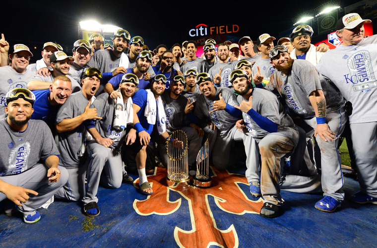 Royals win World Series, despite 12 teams with better odds to start season