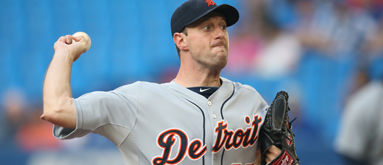 Tigers' Scherzer climbs MLB money rankings with 13-0 start
