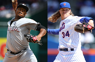 Sunday Night Baseball betting preview ond odds: Marlins at Mets
