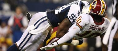 Sunday Night Football: Cowboys at Redskins