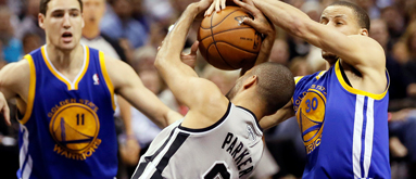 NBA series prices: Spurs-Warrors odds level out after split