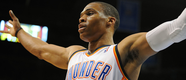 Thunder's Westbrook has torn meniscus, Game 3 odds on the move