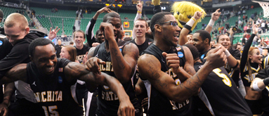 Shockers go from 500/1 to 33/1 to win NCAA tourney