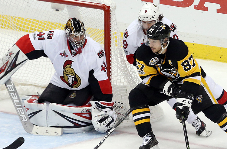 Wednesday's Stanley Cup Playoffs betting preview: Penguins at Senators