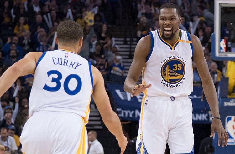 Vegas NBA season win totals highlight gulf between Warriors and rest of league