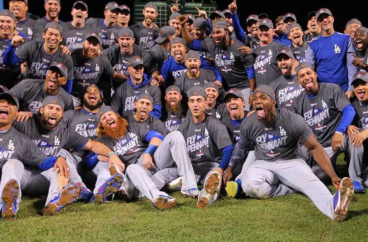 c411e284f Los Angeles Dodgers open as betting favorites to claim 2018 World Series