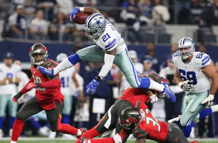 Ezekiel Elliot suspended; books adjust Cowboys Super Bowl odds