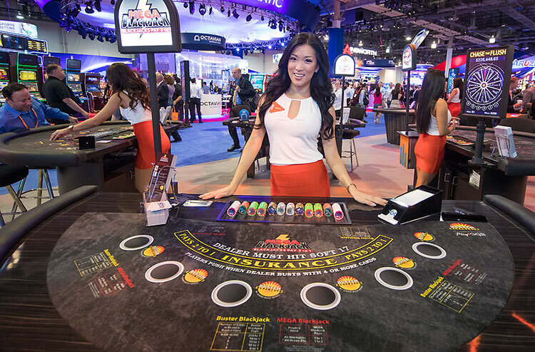 Vegas kicks off October with G2E, there are plenty of new toys to see