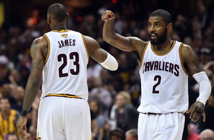 Oddsmakers differ on how to handle Kyrie Irving-Cavaliers situation
