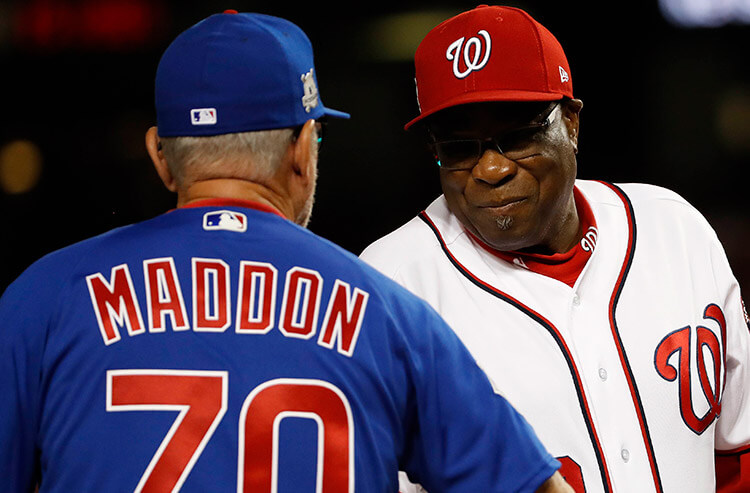 Thursday's NLDS playoff betting preview and odds: Cubs at Nationals