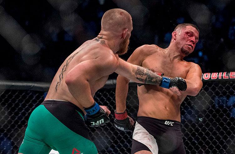 Sportsbooks prepare betting odds for Conor McGregor vs. Nate Diaz III