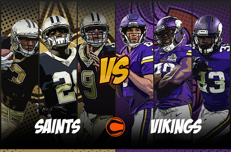 Vegas Play of the Day: Vikings vs. Saints