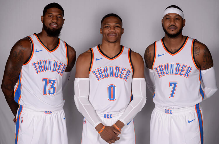 NBA Northwest betting preview and odds: Thunder the faves among all the new faces
