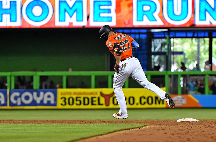 Should you bet on Giancarlo Stanton to finish with more than 61 home runs?