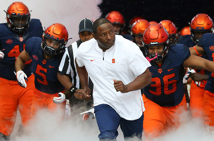 More bettors on Syracuse's odds in college football clash vs. Notre Dame