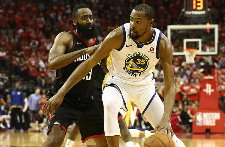 NBA Western Conference Final Game 2 betting preview and odds: Warriors at Rockets