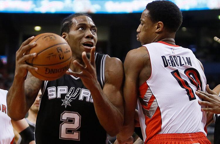 Latest title odds signify end of an era for Spurs after Leonard-DeRozan swap