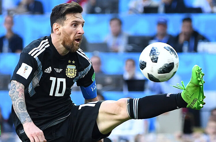 Another clean sheet for Argentina, and this week's soccer odds and analysis