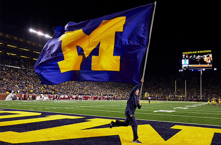 Bettors Pour More On Michigan Odds In College Football Clash Vs