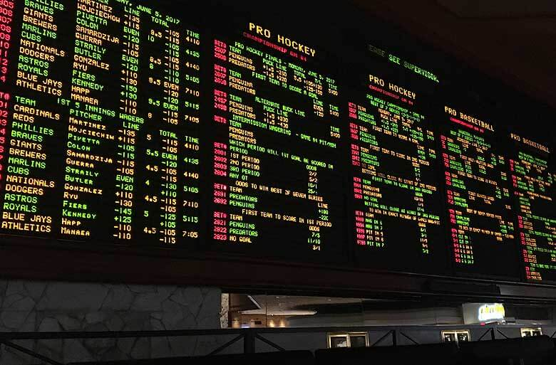 Nevada sports bettors wagered almost $5 billion in 2017, once again breaking betting records